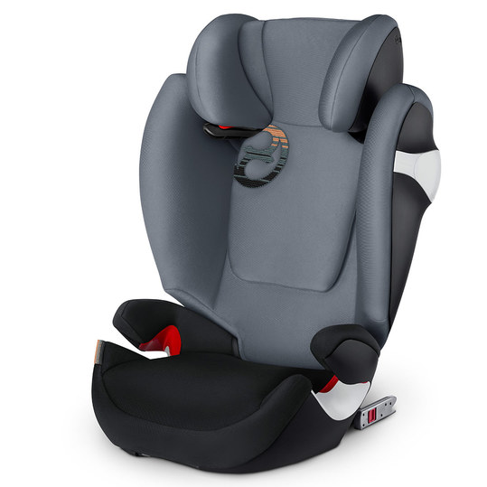 Kindersitz Solution M-Fix - Pepper Black Dark Grey