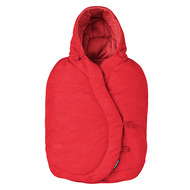 Fußsack für Babyschale Cabriofix / Pebble / Citi / Rock - Nomad Red