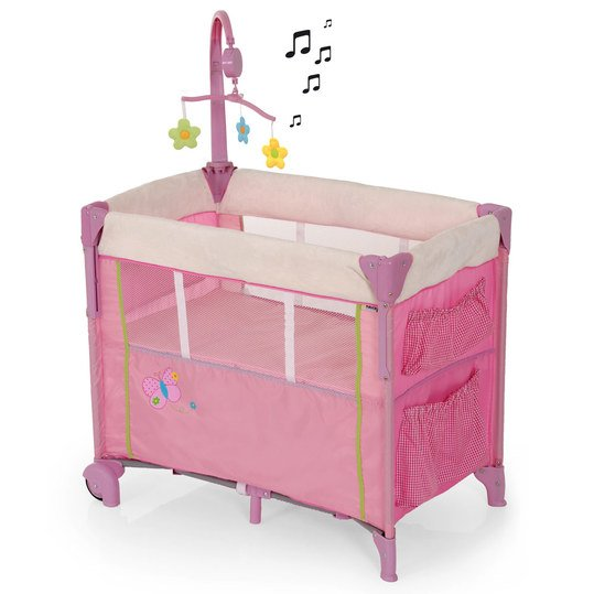 Baby-Reisebett Dream'n Care Center - Butterfly