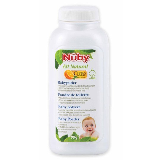 Babypuder Citroganix All Natural 90 g