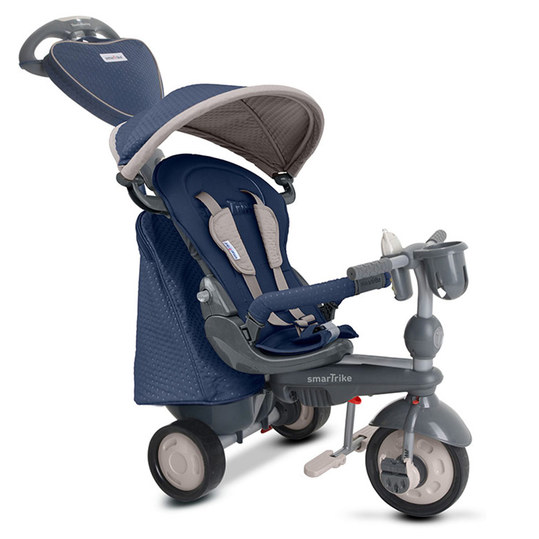 Dreirad Recliner Infinity 5 in 1 mit Touch Steering - Blue