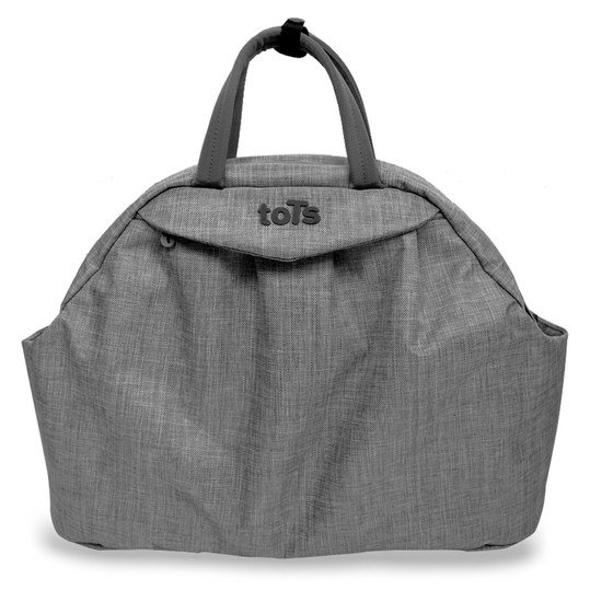 Wickeltasche Chic - Grey