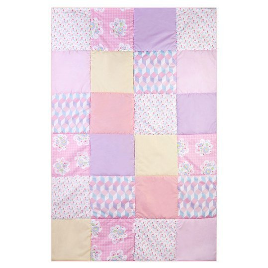 Patchwork Plaid my Julius 115 x 175 cm - Lilly - Bunt