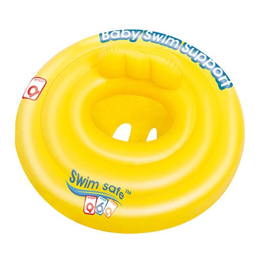 Baby Floating Seat Swim Safe - Yellow