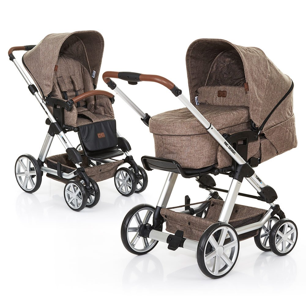 ABC Design Kombi-Kinderwagen Turbo 6 - Bean 61290 706