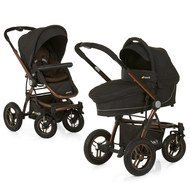 Kombi-Kinderwagen King Air Duo Set - Chocolate