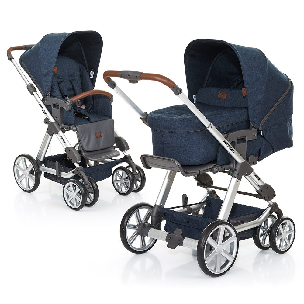 ABC Design Kombi-Kinderwagen Turbo 6 - Admiral 61290 705