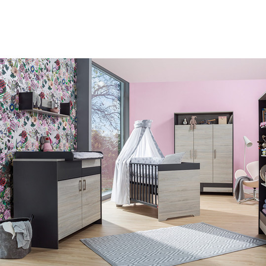 schardt kinderzimmer clou mit 3 t rigem kleiderschrank. Black Bedroom Furniture Sets. Home Design Ideas