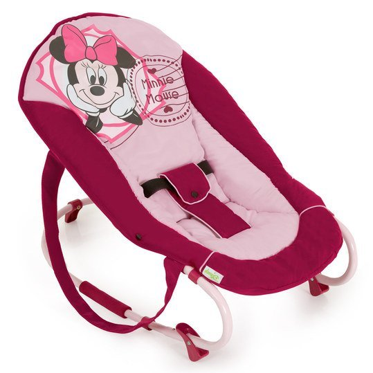 Babywippe Rocky - Minnie Mouse Pink
