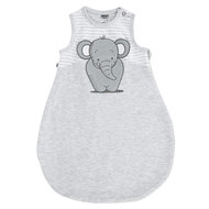 Summer Sleeping Bag Elephant - Light Grey Melange - Gr. 50/56