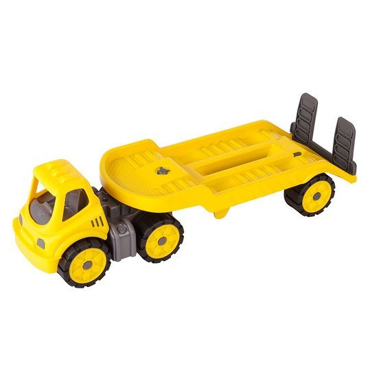 Power-Worker Mini Transporter - Gelb