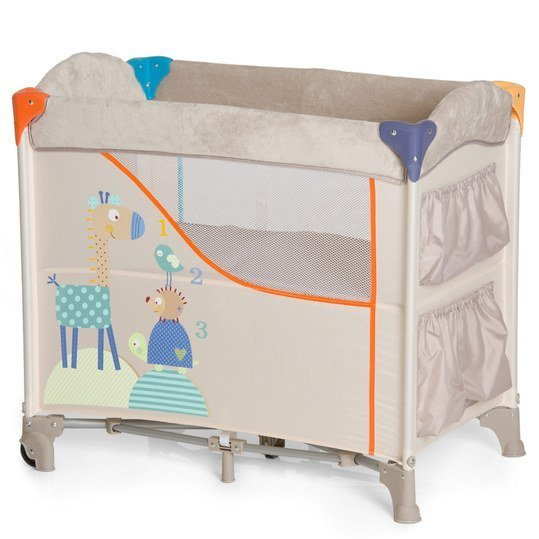 Baby-Reisebett & Beistellbett Sleep'n Care - 80 x 50 cm - Animals
