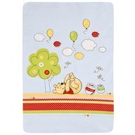 Baumwoll-Decke 75 x 90 cm - Pooh Party