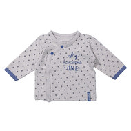 Wickelshirt Langarm My handsome One - Grau - Gr. 56