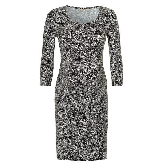 Kleid Ivory - Charcoal - Gr. S
