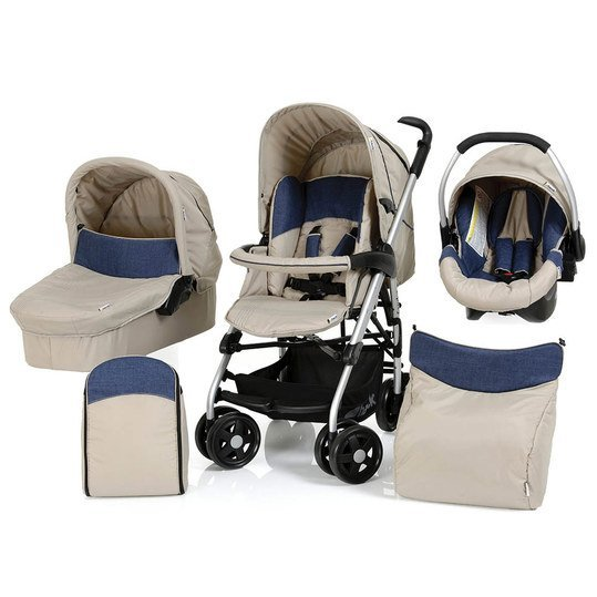 Kinderwagen-Set Condor All in One - Almond Jeans