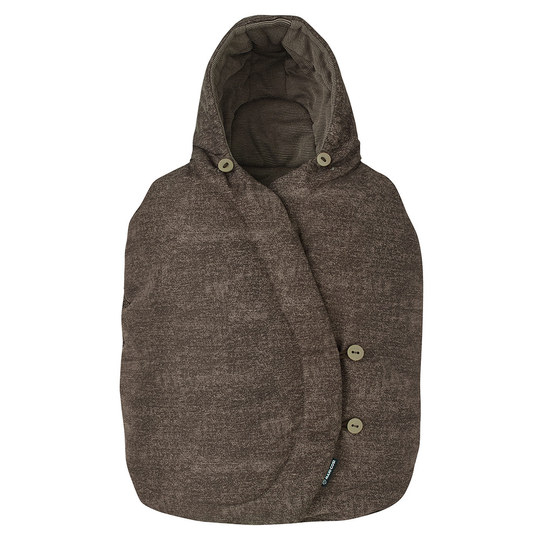 Fußsack für Babyschale Cabriofix / Pebble / Citi / Rock - Nomad Brown