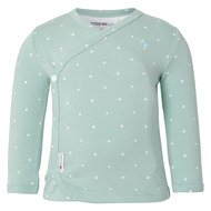 Wrap Shirt Long Sleeve Anne - Stars Mint - Gr. 56