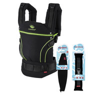 Babytrage Black Line Premium Bundle - Screamin Green