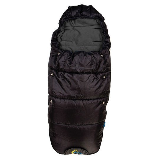 Fleece-Fußsack Kailash Big - Schwarz