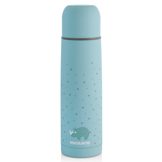 Edelstahl-Isolierflasche Silky Thermos 500 ml - Azure