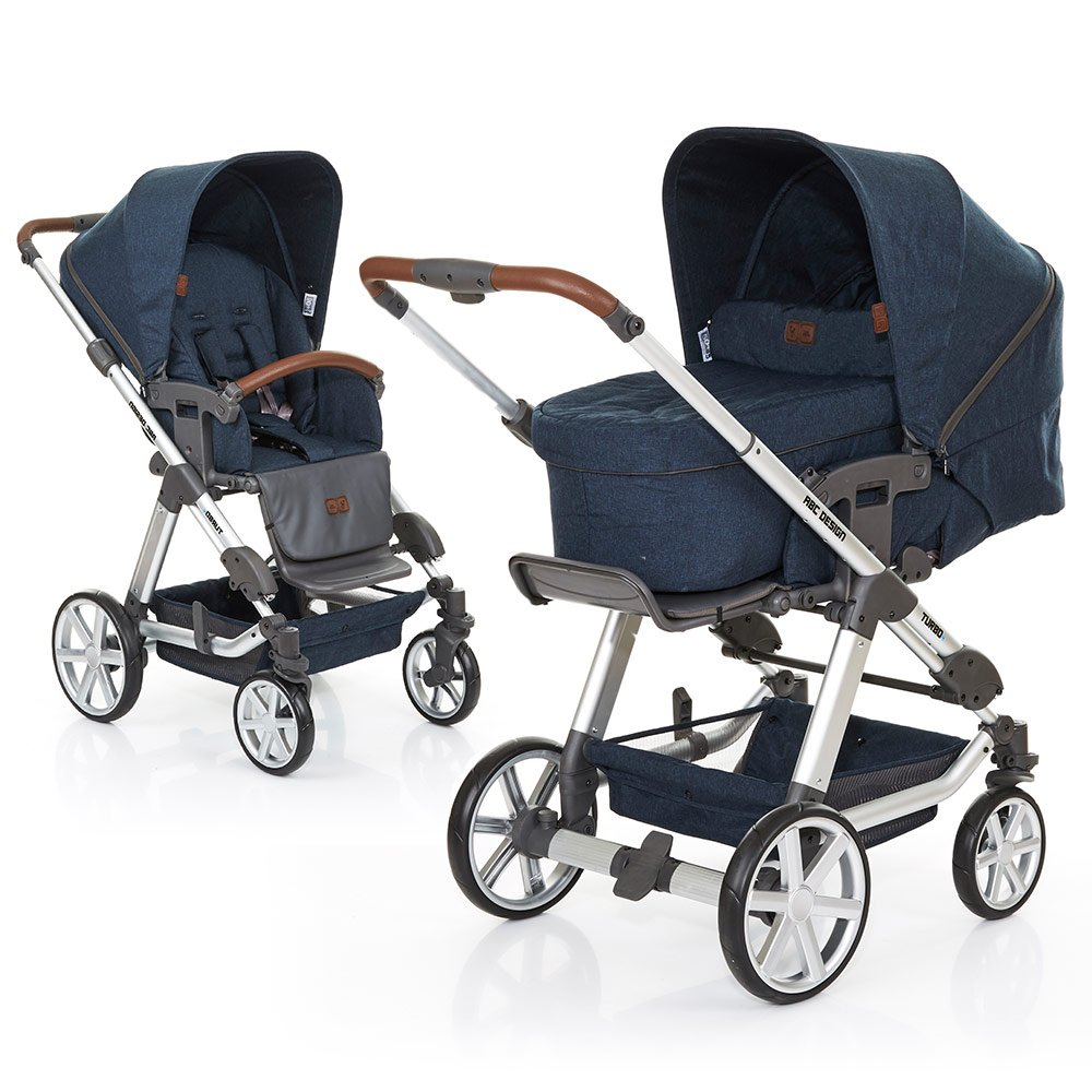 ABC Design Kombi-Kinderwagen Turbo 4 - Admiral 61289 705