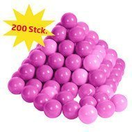 Balls 200er Pack for ball bath - Pink Rosa