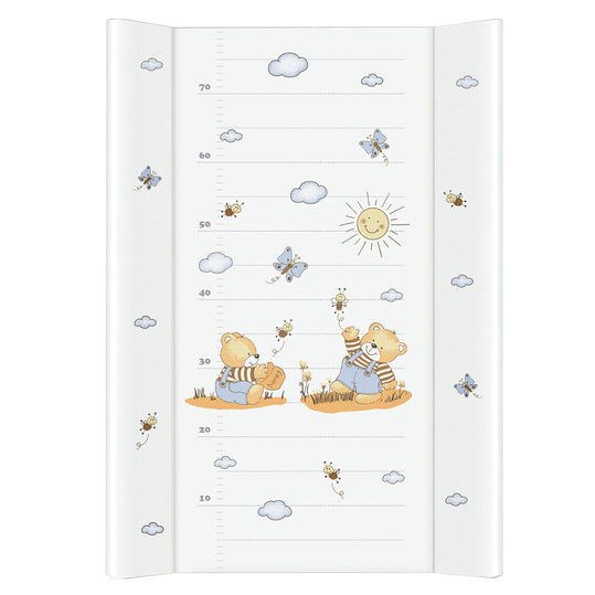 Wrapping board white with overlay - Honey bear - Beige