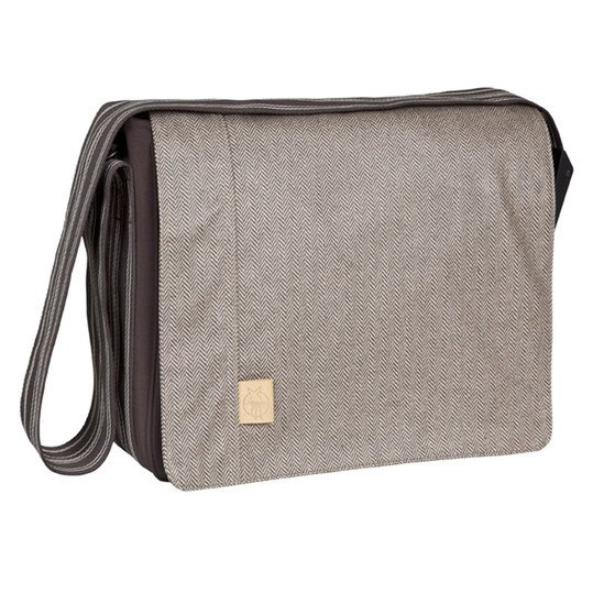 Wickeltasche Casual Messenger Bag - Twill - Choco