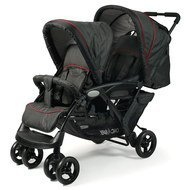 Geschwisterwagen Duo - Jeans Black