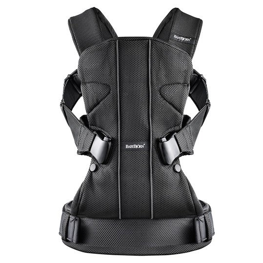 Babytrage One Mesh Ergonomic Edition - Schwarz