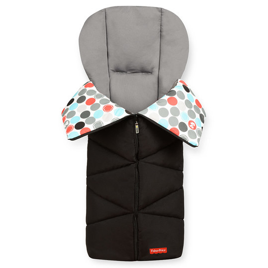 Footmuff for buggy and pram - Black