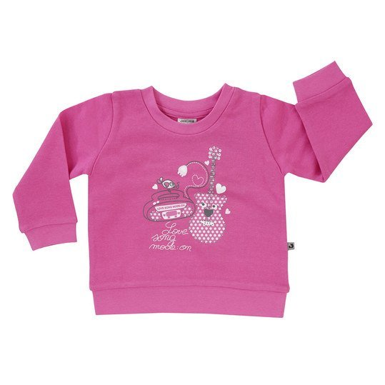 Sweatshirt Basic Line - Girls - Pink - Gr. 62