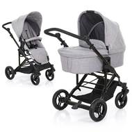 Kombi-Kinderwagen Como 4 - Woven-Grey (Circle-Line)
