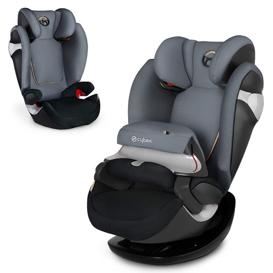 Kindersitz Pallas M - Graphite Black