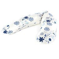 Nursing pillow The original 190 cm - Flower tendril white