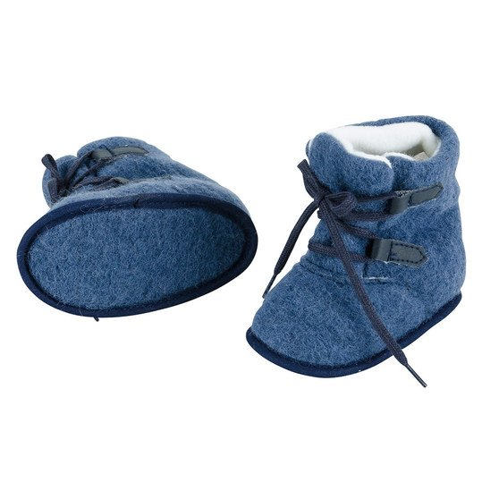 Boots Wolle - Blau - Gr. 20