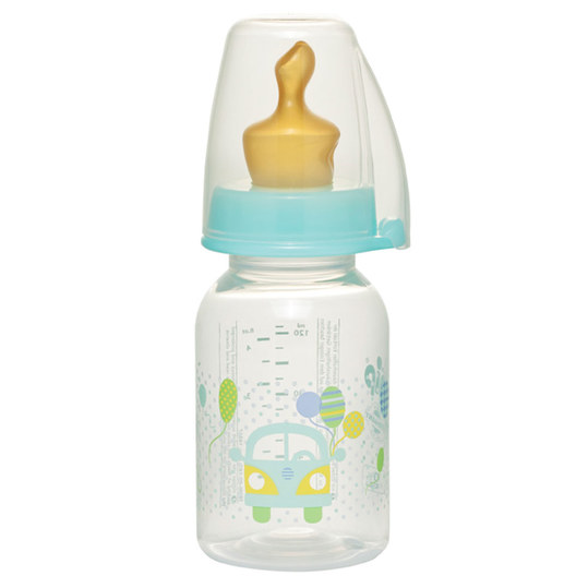 PP-Flasche Family 125 ml - Latex - Gr. 1 S - Bus
