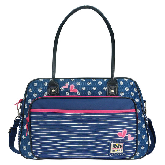 Wickeltasche Denimized - Marineblau
