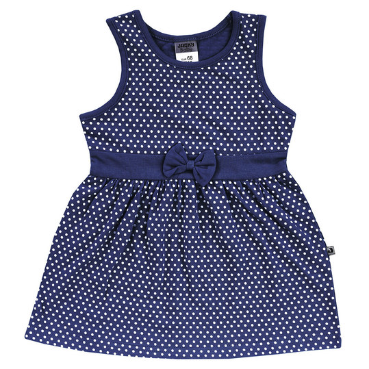 Kleid Summer Styles - Punkte Allover Marine - Gr. 74