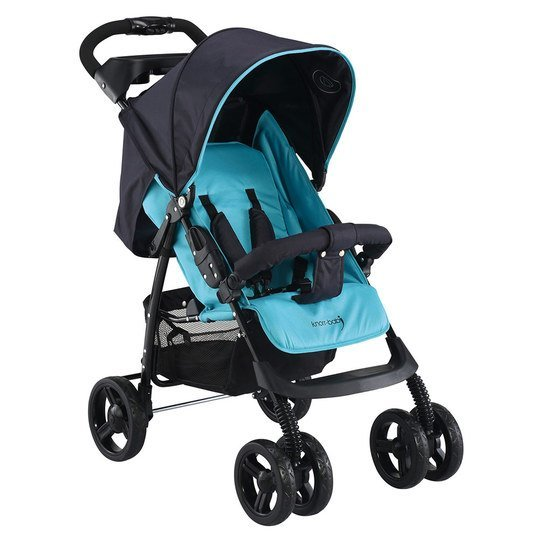 Sportwagen V-Easy Fold Happy Colour - Blau