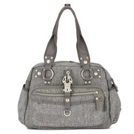 Wickeltasche Baby 2 Kiss - Grey Melange