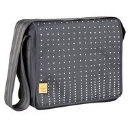 Wickeltasche Casual Messenger Bag - Dotted Lines - Ebony