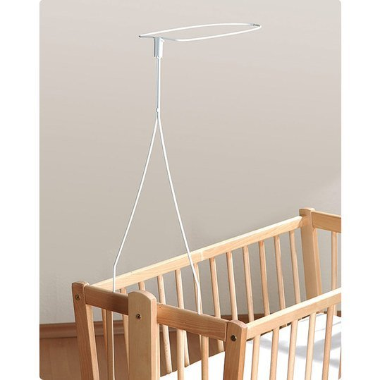 Canopy pole for cradle - White