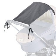Awning Deluxe for pram 50+ - Grey