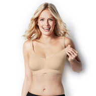 Still- & Schwangerschafts-BH Body Silk Seamless - Latte - Gr. M