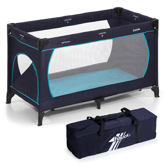 Reisebett Dream'n Play Plus - Navy Aqua