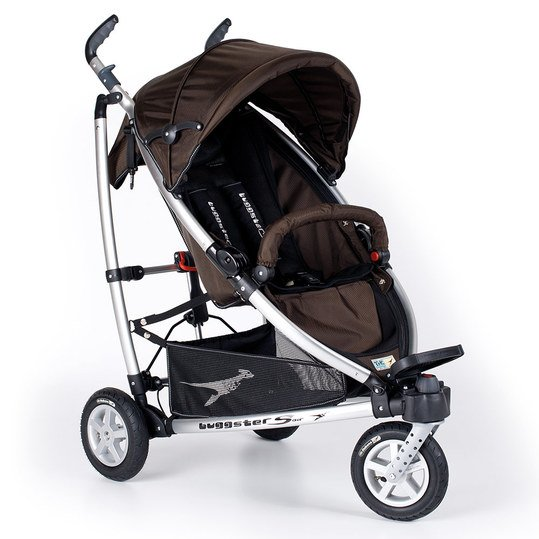 Buggy Buggster S Air mit Luftbereifung - Chocolate