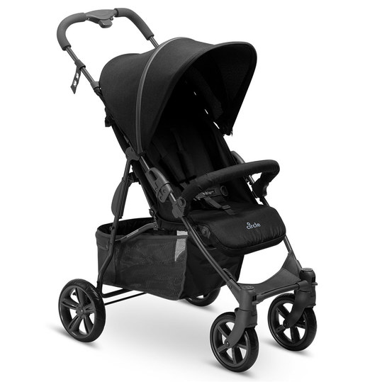 Buggy Treviso 4 - Woven-Black (Circle-Line)