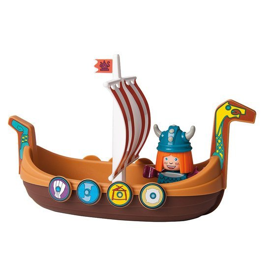 Waterplay Wickie - Drachenboot mit Wickie